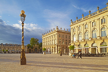 La Place Stanislas in Nancy, Unesco World Cultural Heritage, Meurthe-et-Moselle, Region Alsace-Lorraine, France, Europe