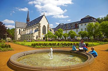 Abtei Marienstatt (13th century), Nistertal, Streithausen, Westerwald, Rhineland-Palatinate, Germany, Europe