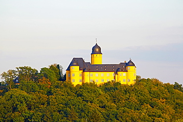 Montabaur castle, Academy of German Cooperative Banks, Montabaur, Westerwald, Rhineland-Palatinate, Germany, Europe