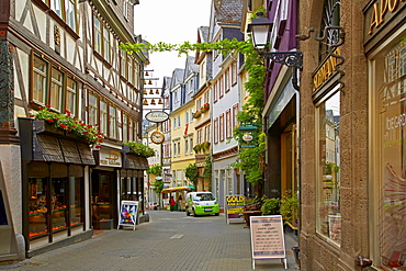 Street in the old town of Wetzlar, Lahn, Westerwald, Hesse, Germany, Europe