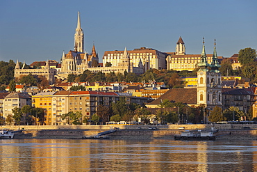 Matthias Church, Saint Anna, Fisherman's Bastion, Budapest, Hungary