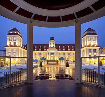 Spa hotel, Binz, Ruegen, Mecklenburg-Western Pomerania, Germany