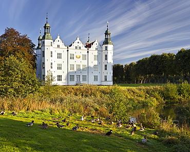 Ahrensburg castle, Ahrensburg, Mecklenburg-Western Pomerania, Germany