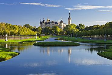 Schwerin castle, Schwerin, Mecklenburg-Vorpommern, Germany