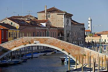 Canale di San Donato, Ponte San Donato, Murano, Venice, Italy