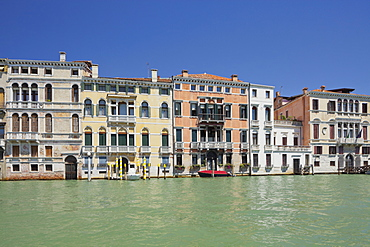 Houses on the Grand Canal, Venice, Italy