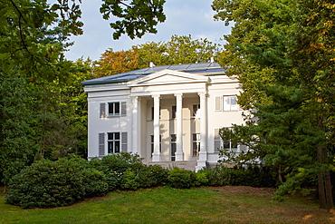 Oppenheim Villa along the beach promenade, Heringsdorf, Island of Usedom, Baltic Sea Coast, Mecklenburg Western Pommerania, Germany