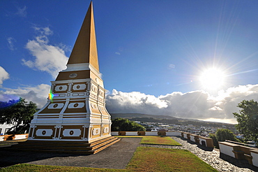 View from Alto da Memoria, Angra do Heroismo, Island of Terceira, Azores, Portugal