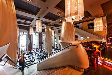 Restaurant of the East Hotel, at St. Pauli Hamburg, Hamburg, Germany