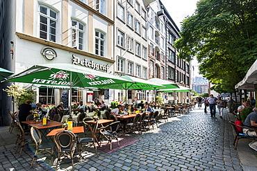 Traditional restaurant Der Deichgraf, Deichstrasse, Hamburg, Germany