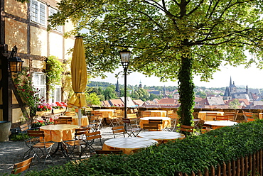 Restaurant Schlosskrug, Quedlinburg, Saxony-Anhalt, Germany