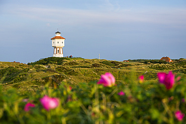 Water tower, landmark, Langeoog Island, North Sea, East Frisian Islands, East Frisia, Lower Saxony, Germany, Europe