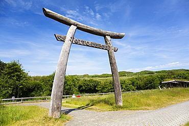 Otto Leege nature trail, Juist Island, Nationalpark, North Sea, East Frisian Islands, East Frisia, Lower Saxony, Germany, Europe
