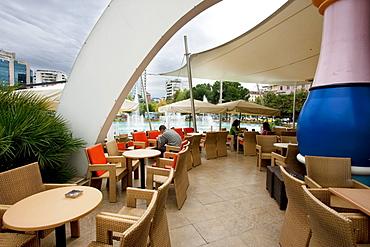Restaurant at the Tajvani (The Taiwan), Tirana, Albania