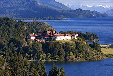 Hotel Llao Llao on Peninsula Llao Llao, San Carlos de Bariloche, Nahuel Huapi National Park, Rio Negro, Argentina