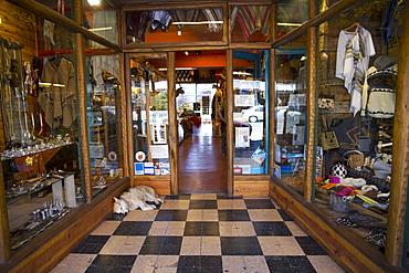 Traditional souvenir store, San Carlos de Bariloche, Rio Negro, Argentina