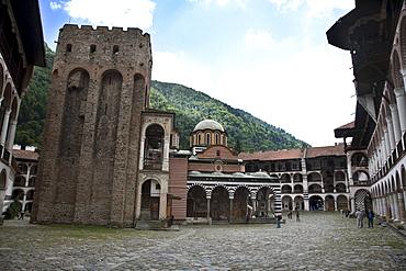 Tower of Hrelyu, Rila Monastery, Blagoevgrad, Bulgaria