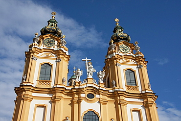 Abbey Church of Stift Melk Benedictine Monastery, Lower Austria, Austria