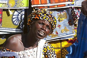 Woman at the Monday Market, Djenne, Mali