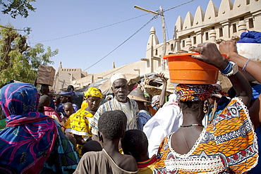 Monday Market, Djenne, Mali