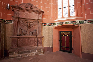 Interior of St. Kilian's Chapel, Wertheim am Main, Baden-Württemberg, Germany