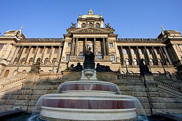 Narodni Muzeum (National Museum), Prague, Czech Republic