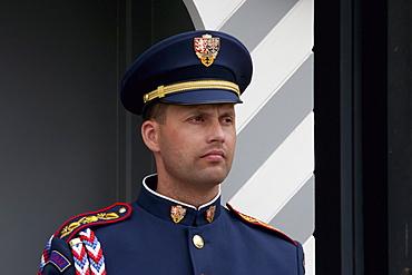 Honour Guard by the Prague Castle, Prague, Czech Republic