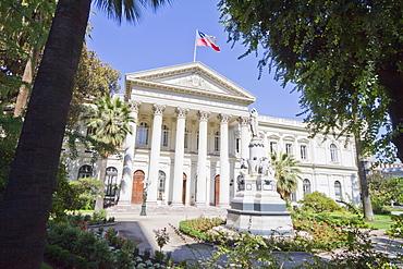 Edificio del Congreso (former Parliament Building), Santiago, Región Metropolitana, Chile