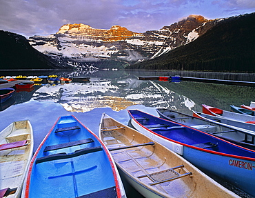 Cameron Lake, Waterton Lakes National Park, Alberta.