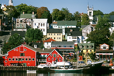 World Hertitage designated town on South Shore, Lunenburg, Nova Scotia.