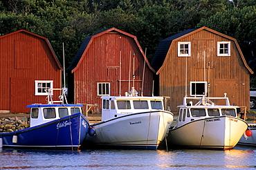 Malpeque Harbour, Prince County, Prince Edward Island.
