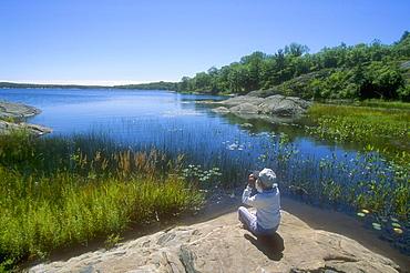 The Massasauga Provincial Park, Georgian Bay, Ontario