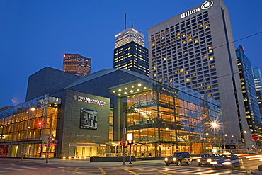 Canadian Opera Company and Hilton Hotel at Queen and University Streets, Toronto, Ontario