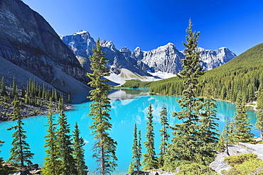 Moraine Lake and Valley of the Ten Peaks, Banff National Park, Alberta