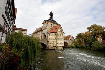 Altes Rathaus (Old city hall), Bamberg, Bavaria, Germany