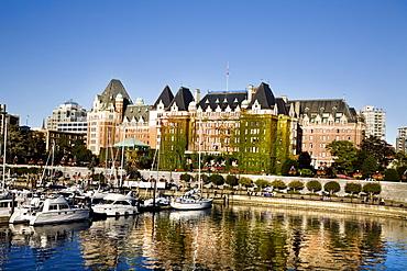 The Empress Hotel in Victoria, British Columbia
