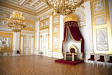 Throne Hall of King Ludwig at the Residence, Munich, Bavaria, Germany