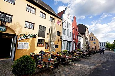 Lohberg place, Wismar, Germany