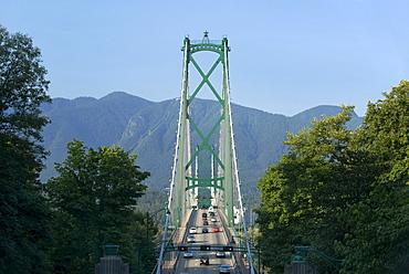 Lion's Gate Bridge, Vancouver, British Columbia