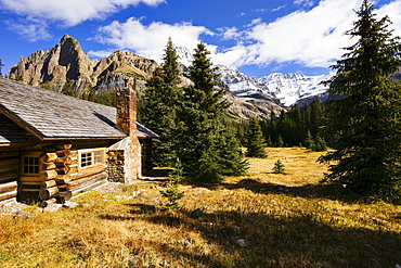 Elizabeth Parker Hut and Mountains, Yoho National Park, British Columbia