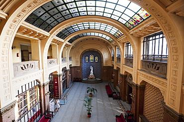 Foyer of the Gellurt Bath, Budapest, Hungary
