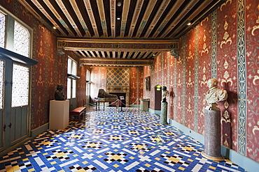 Galurie de la Reine Chuteau de Blois, Blois, France