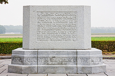Le Quesnel Canadian Battlefield Memorial, France