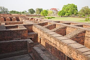 Monastery Site No. 2, Nalanda Mahavihara, Bihar, India
