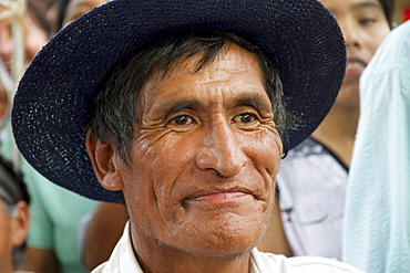 Chapaco at the festivities of the Dia de las Comadres during the Carnaval Chapaco, Tolomosa, Tarija, Bolivia