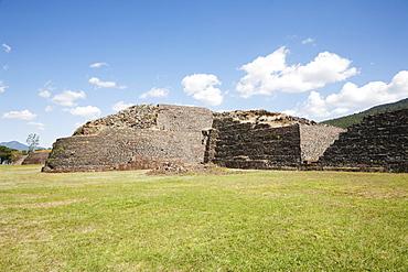 Oval-shaped yucatas, Tzintzuntzan Archaeological Zone, Michoacun, Mexico