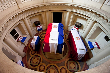 Tomb of the Unknown Soldier in the Panteon Nacional de los Huroes (National Pantheon of the Heroes), Asuncion, Paraguay