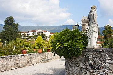 Gardens of Villa Godi Malinverni & Villa Piovene by Andrea Palladio, Lonedo di Lugo, Italy