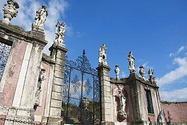 Entrance to Villa Piovene by Andrea Palladio, Lonedo di Lugo, Italy