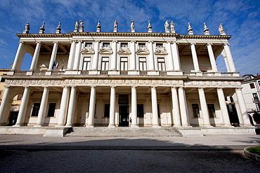 Palazzo Chiericati by architect Andrea Palladio, Vicenza, Italy